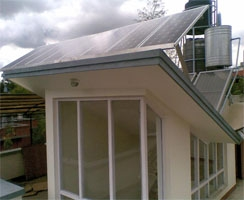 Solar Back-up system for homes and offices