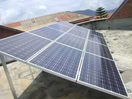 Institutional Solar Power System